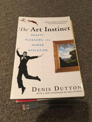 The Art Instinct Book