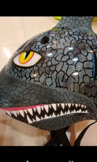 🚚 dragon/Dinosaur boys bicycle  helmet