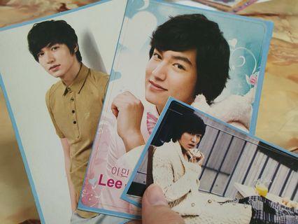 Lee MinHo postcard & sticker