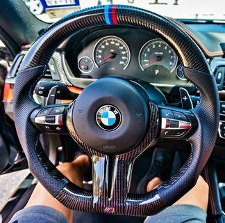 Carbon steering bmw f30,f10