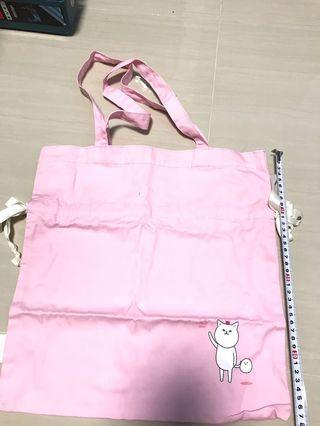 Etude House Tote Bag with Drawstring