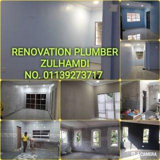 Service dn renovation&plumber. 0182956957 call whatsapp sy zulhamdi
