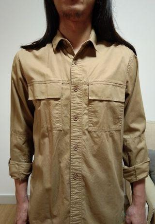 F.O.S Brown long sleeve shirt (new)