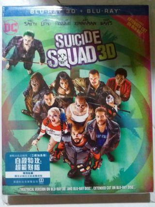Bluray 自殺特攻超能暴隊 藍光碟 3碟加長版