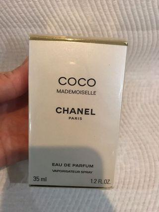 Chanel coco Mademoiselle eau de parfum spray genuine