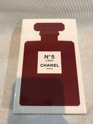 Chanel no.5 L'eau eau de toilette spray red bottle limited edition area new sealed