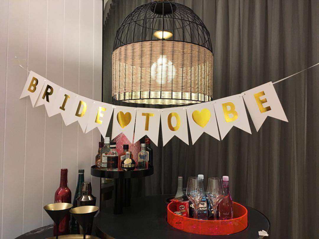 Ready printed customised / personalized party bunting / banner