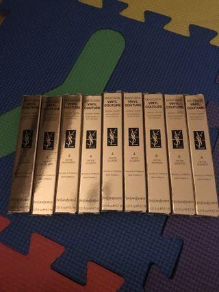Yves Saint Laurent mascara $40 each genuine new unused