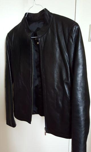 Real leather jacket black