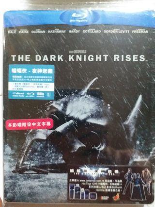 Bluray 蝙蝠俠 夜神起義 THE DARK KNIGHT RISES 藍光碟