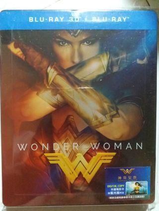 Bluray 神奇女俠 WONDER WOMAN 鐵盒版藍光碟