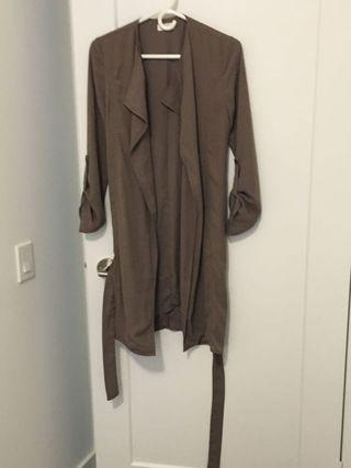 Duster coat from boohoo never worn