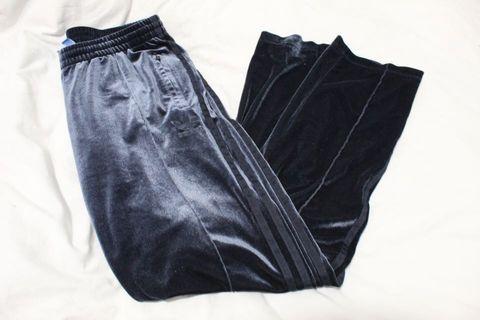 Adidas Velvet Sweatpants Sz M