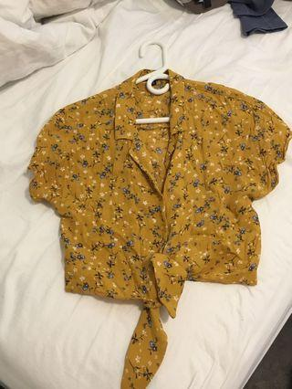 Dynamite button down with tie size small