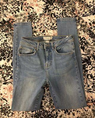 Forever 21 Light Wash Jeans