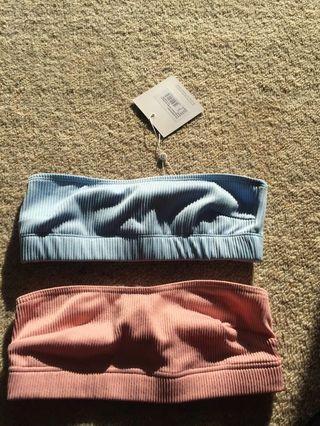 XS (6) Strapless bikini