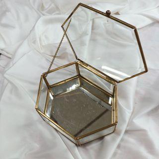 北歐風玻璃化妝盒