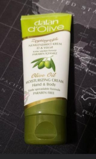 Dalan D'Olive - Olive Oil Moisturizing Cream #rayathon50