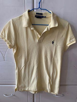 Ralph Lauren The Skinny Polo (黃/粉紅)
