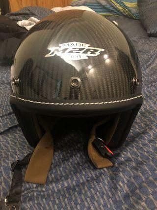🚚 M2R XF1 碳纖維安全帽 XL
