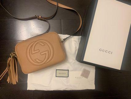 AUTHENTIC Gucci Disco Soho Bag