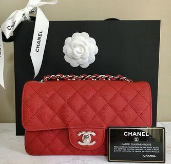 Chanel 2.55 red color