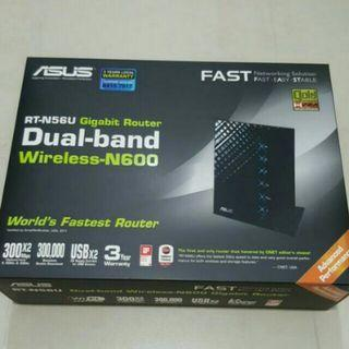 ASUS RT-N56U Gigabit Router Dual-band Wireless-N600