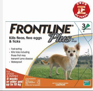 Frontline Plus For Dog 狗狗滅蝨劑