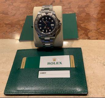 Rolex Yacht-Master 40mm Blue face. BNIB