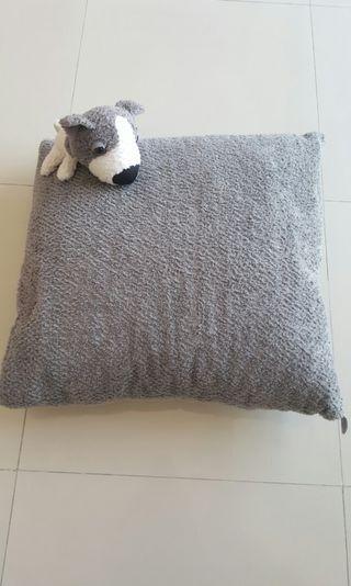 Very Big Cushion With Big Head The Dog Plush Toy