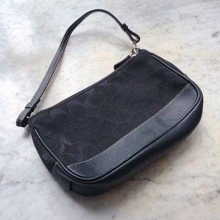 Authentic Coach black mini shoulder bag 手袋