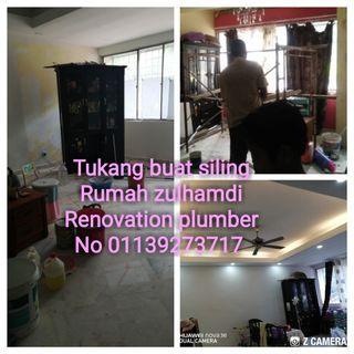 Kami menerima services renovation&plumber rumah. No 01139273717 sila hubungi sya atau whatsapp sy zulhamdi