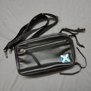 Auth. Luggage Label Sling / Clutch bag
