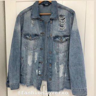 H&M 牛仔外套 原價$500 牛仔褸 Boyfriend Oversized Denim Jacket