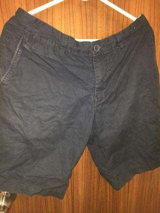 Pull n Bear Blue shorts