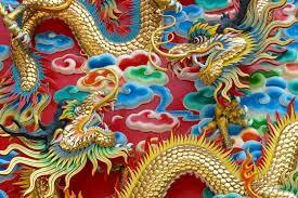 World class Chinese Dragon art