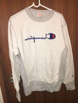 Champion white sweater