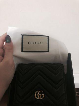 Gucci marmont mini wallet