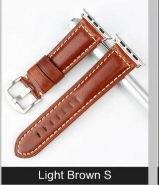 #Jansin® Apple iwatch leather strap / replacement apple watch band instock