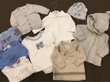 Pure Baby Boys Clothing size newborn to 6 months