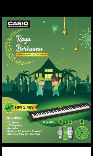🌟Casio digital piano and keyboard Raya Promo
