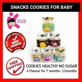 biskut baby/baby cookies izliyah kitchen