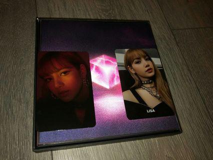 Blackpink Square Up Lisa photocards trade
