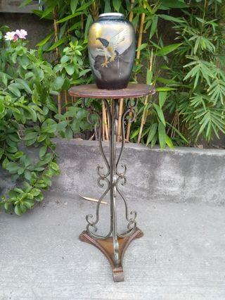Vintage Vase stand home office condo display decorations