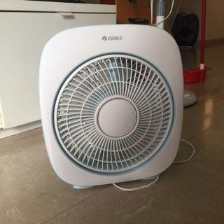Gree Table Fan blue color cute