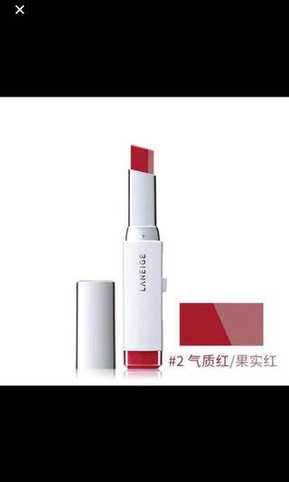 🚚 Free gift with min $30 purchase_ Laneige Two Tone Lip Bar
