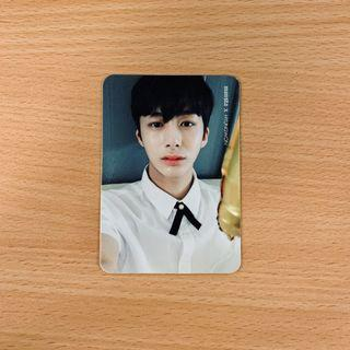 [CLEARANCE] MONSTA X Hyungwon PICNIC IN MONBEBE WORLD Official Photocard