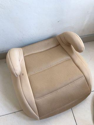 Car seat booster for toddlers