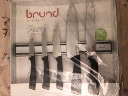 🚚 Brund knives set