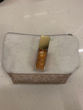 極滋潤 Clarins lip oil 7ml color 07 honey glam